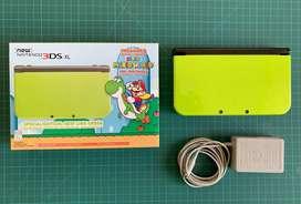 Vendo nintendo new 3ds XL edicion especial: new lime green