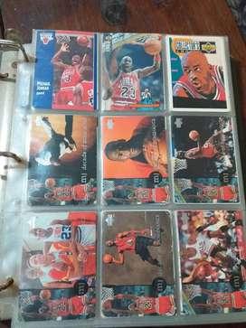Gran coleecion tarjetas NBA