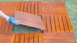 Deck De Lapacho  ,, De 40  , 50  y 60 cm ,,