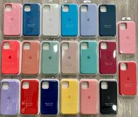 Case Silicona iPhone 11/ 11 Pro Max/ iPhone X/ XR / XS Max + Mica de vidrio