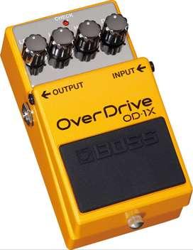 Boss OD-1X Pedal Guitarra Electrica Overdrive