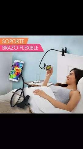 Brazo soporte flexible para celulares
