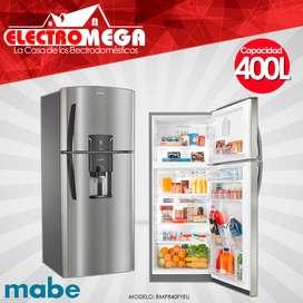 Refrigeradora Mabe 400 Litros Acero Inox Nueva Rmp840fyeu