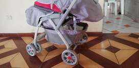 Vendo coche marca ebaby y triciclo