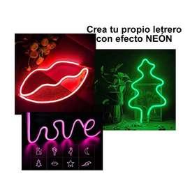 Avisos Letrero Luces Luz Neon Alambre Regalo Hombre Mujer