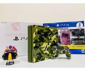 Ps4 Slim Edición Especial Call Of Duty: Wwii 1tb
