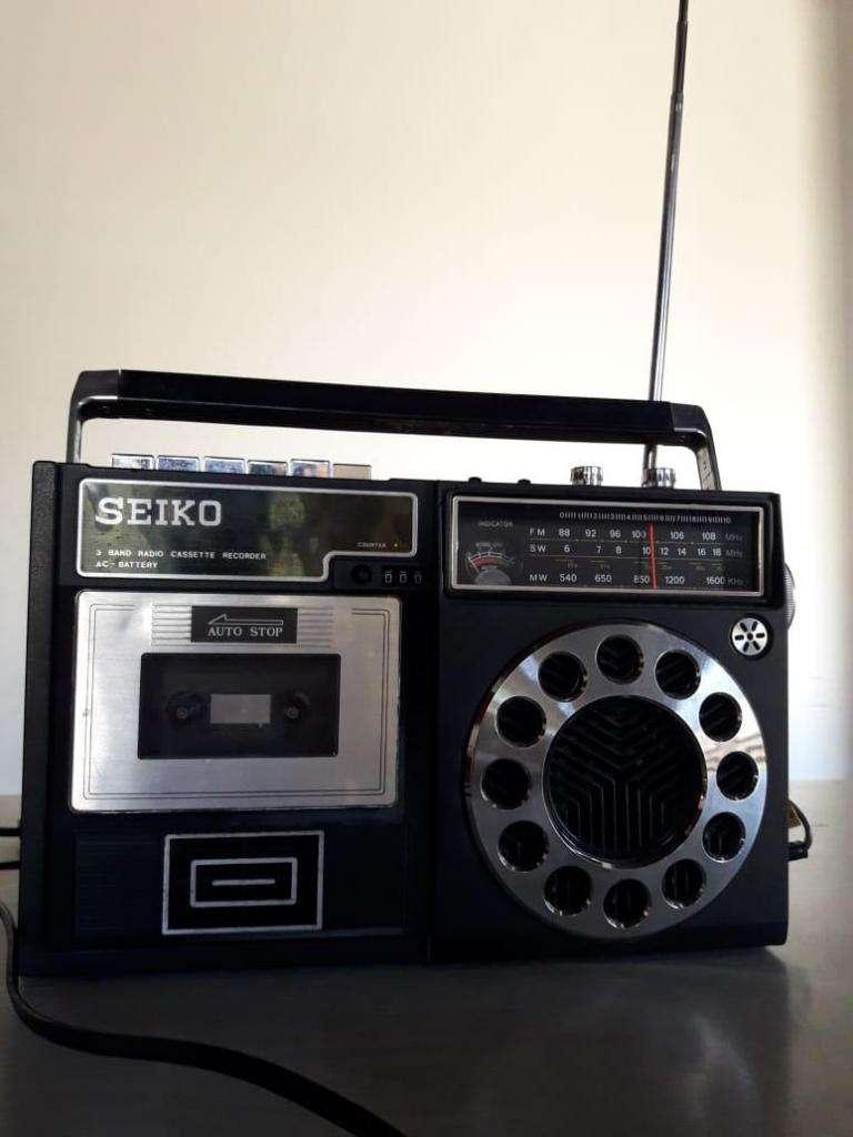 Radiograbador Antiguo Seiko 0
