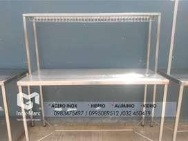 INOX MARC empresa dedicada a la fabricación e instalación de mesas, jaulas,  pasamanos etc... en acero inoxidable 304