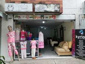 Vendo negocio, almacén de pijamas y peluquería