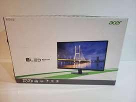 """MONITOR 27"""" ACER S271HL FHD HDMI DVI VGA"""
