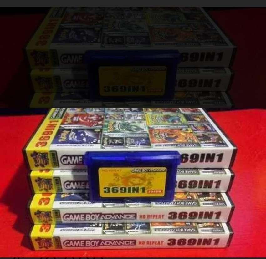Juego Gameboy 369 en 1 0