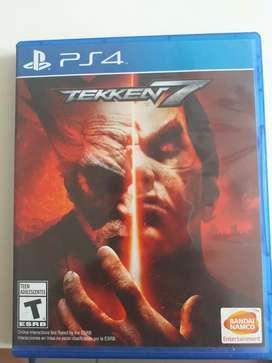 Videojuego PS4: Tekken 7