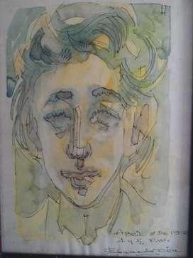 Eduardo Villa Obra de Arte Orig. Hermosa