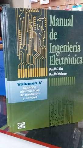 Manual de ingeniería electrónica de Donald G. Fink