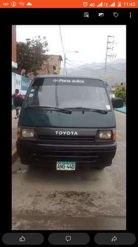 Venta combi Toyota hiace