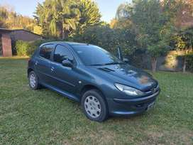 Peugeot 206 modelo 2007 impecable
