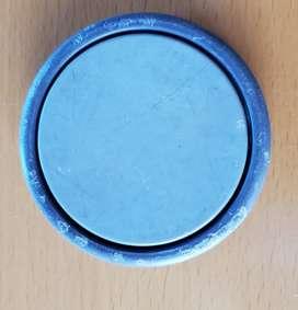 Rueda repuesto gris de estufa o aspiradora 9 cm desarmable