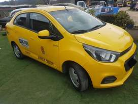 Vehiculo taxi marca Chevrolet Beat modelo 2020 en perfecto estado