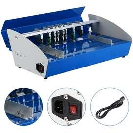 Máquina Eléctrica De Plegado, Microperforado Y Corte