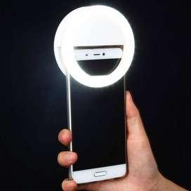 Aro Luz Selfie Celular Anillo Flash Fotografía Luz Led 18