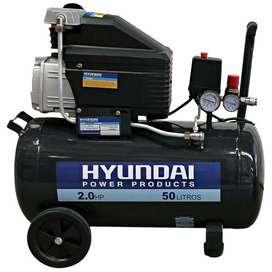 Compresora Hyundai 50 Litros 2 Hp Japones