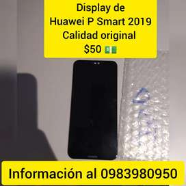 Últimos 5 displays de Huawei P Smart 2019