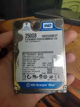 Vendo disco duro de 250 GB