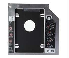 Caddy Adaptador 12.7mm Portatil Laptop Sata 2nd Hdd Ssd