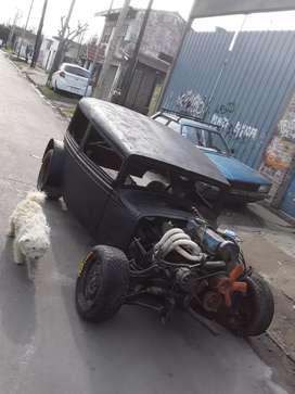 Ford a rat Rod.