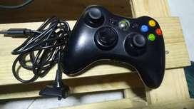 Control Xbox 360 con carga y juega