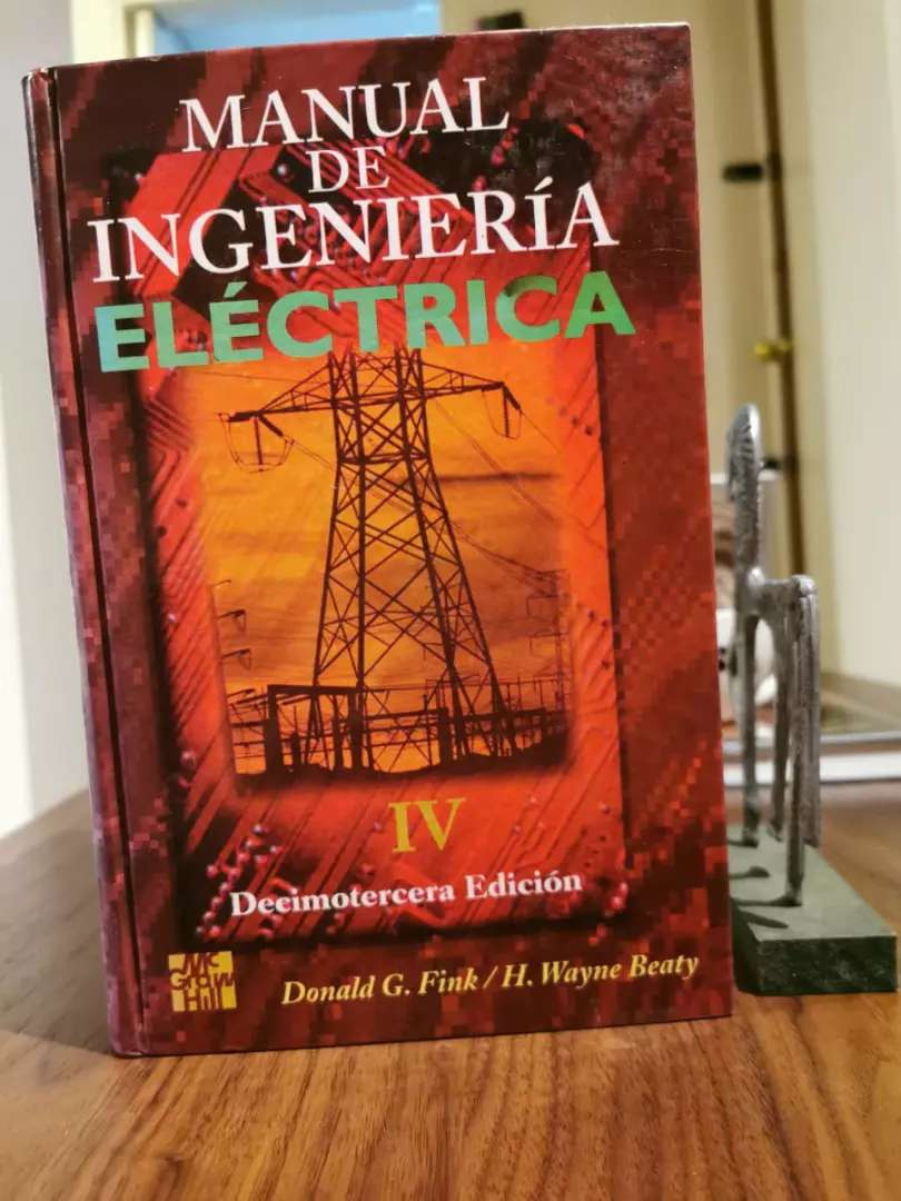 Manual De Ingenieria Electrica 4 Tomos - Fink - Mcgrawhill, negociable 0