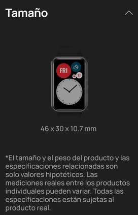 HUAWEI WATCH FIT NEGRO.-