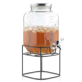 Dispensador de líquidos en vidrio Deco hogar