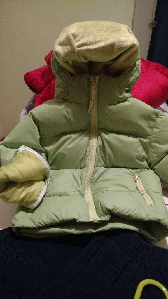 Campera Bebé Nueva Nexxt 12m Apta Nieve 0