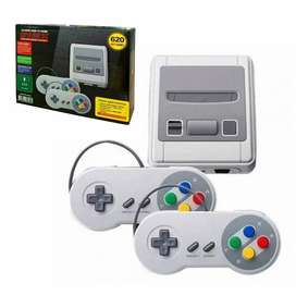 Consola Video Juegos 620 Juegos Clásicos Super Mini SFC