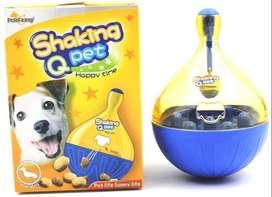 Juguete Interactivo Con Dispensador De Alimentos Shaking Pet