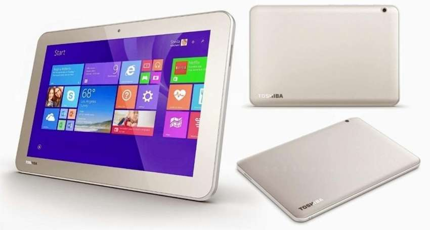 Tablet Toshiba 10.1 Windows 10 + Teclado Bluetooth 0
