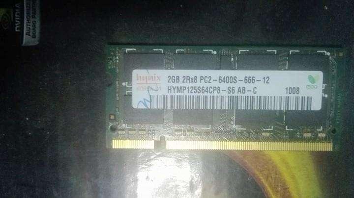 Memoria ram ddr2 2gb laptop 0