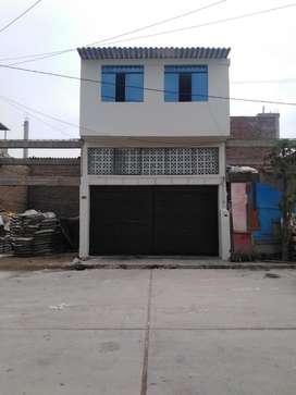 CASA TIENDA 2 PISOS EN URB. LOS ÁNGELES MERCADO ASCOMAPAAT (MERCADO DE LA PAPA) AREA CONSTRUIDA 70 M2