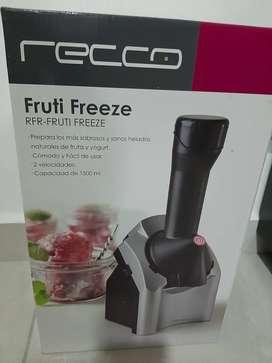 Preparador de helados y yogurth saludables, nuevo economico