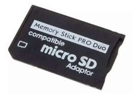 Adaptador Micro Sd Memory Stick Pro Duo / Psp Produo $ 10.000