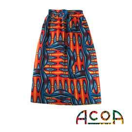 Faldas en tela africana