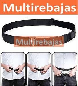 Cinturón Ajustable Para Hombre y Mujer