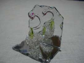Adorno Cisne en vidrio (pequeño)