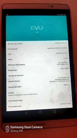 Vendo tablet Huawei M2-801W