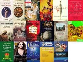 Diccionario, Libro La Divina Comedia, Otelo, Drácula, La Diosa Remate