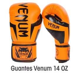 "Guantes De Box Boxeo Profesional 14oz ""VENUM""Elite (NUEVO )AREQUIPA-AREQUIPA"