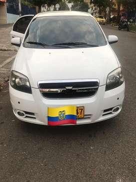 Chevrolet aveo 2012 en venta