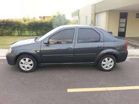Vendo  Renault Logan color gris eclipse en perfecto estado