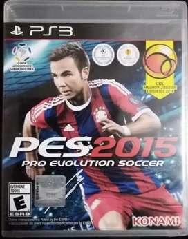 VENDO PES 2015 PS3